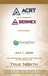 ACRT - StrategiTech