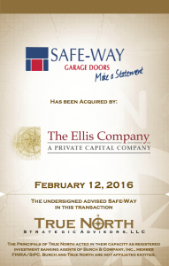 Safe-Way Garage Doors LLC
