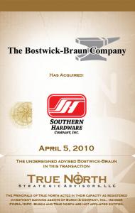 The Bostwick-Braun Company