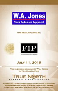 W.A. Jones