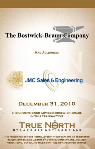 Bostwick-Braun JMC Sales