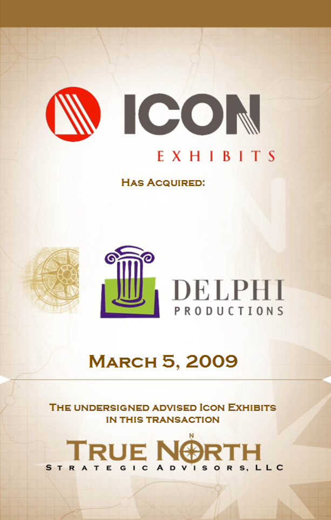 Icon Exhibits Delphi Productions