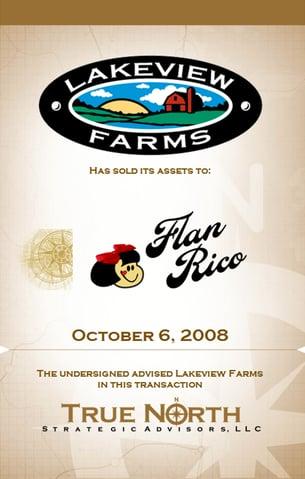 Lakeview Farms Flan Rico