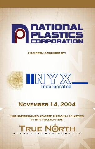 National Plastics NYX