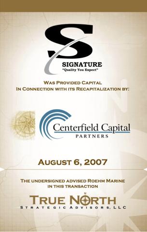 Signature Centerfield Capital