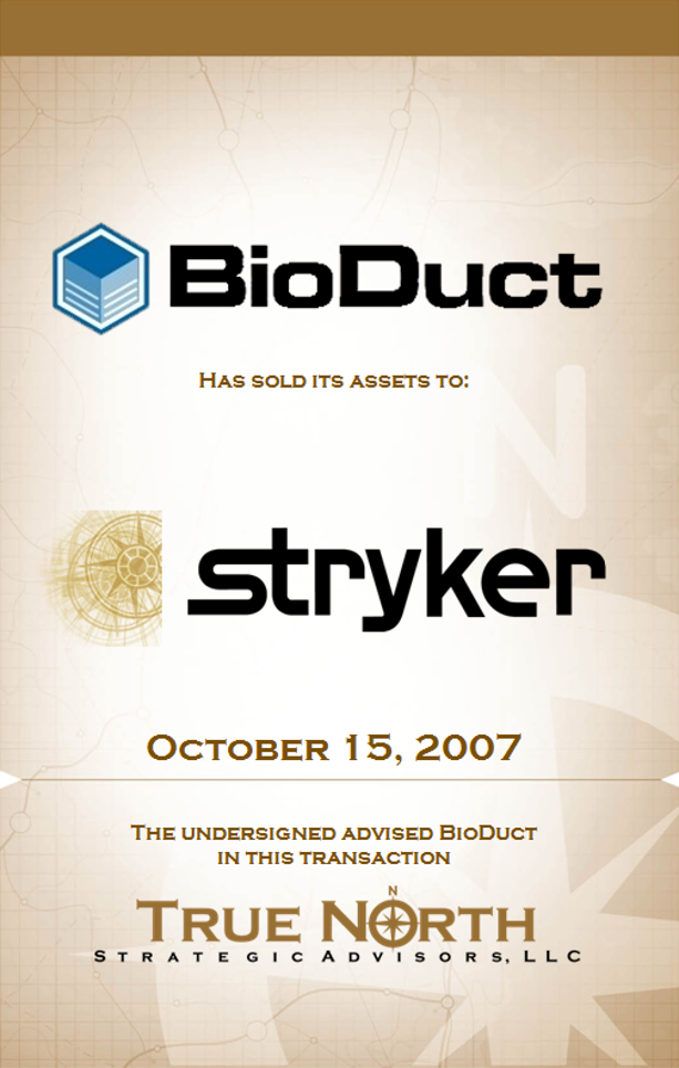 BioDuct Stryker