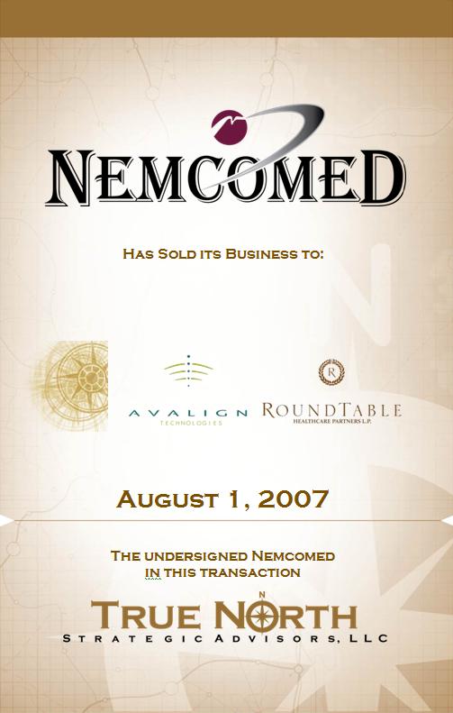 Nemcomed - Avalign Roundtable