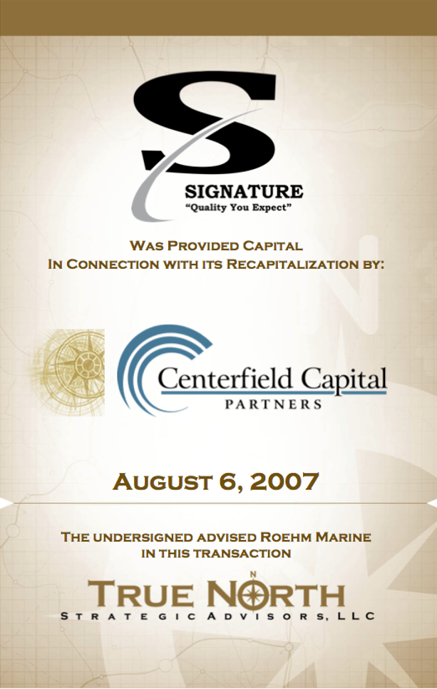 Signature Centerfield Capital