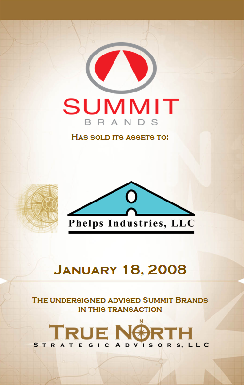 Summit Brands - Phelps Industries 503x791