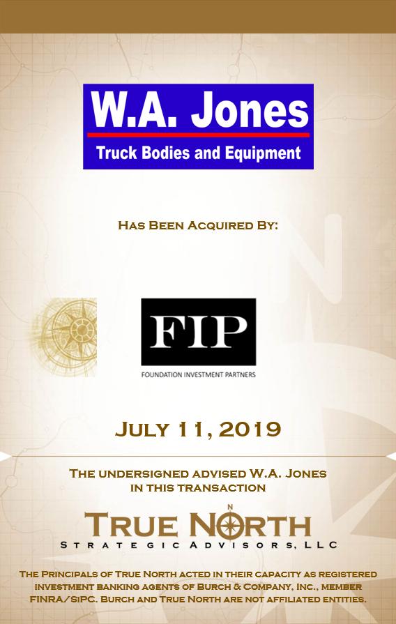 WA Jones